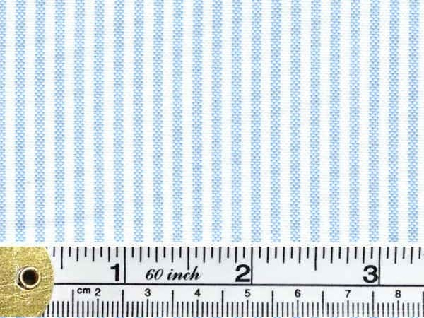 Oxford Ivy Sky Striped Fabric