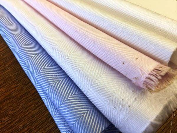 Balmoral twill ecru fabric