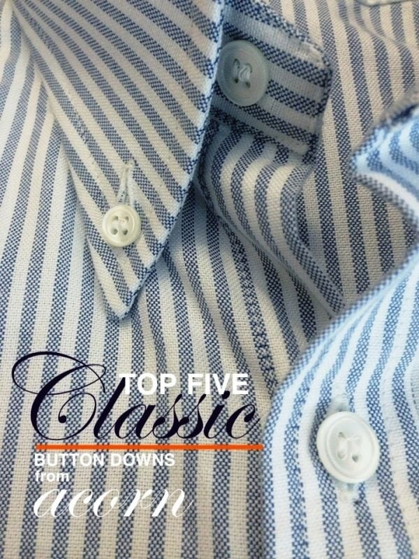 Oxford Bengal Navy Striped Fabric
