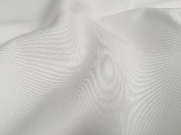 Kingston white heavy twill fabric