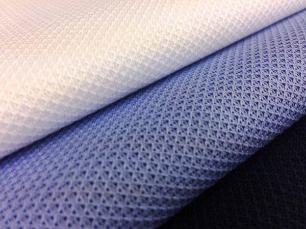 Leno plain white mesh fabric