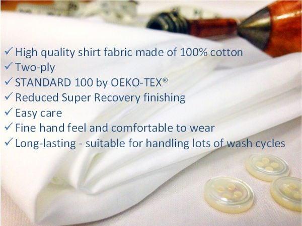 Sandhurst plain white solid fabric