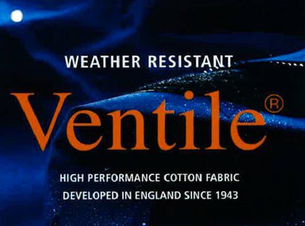 Snowdon jet ventile fabric