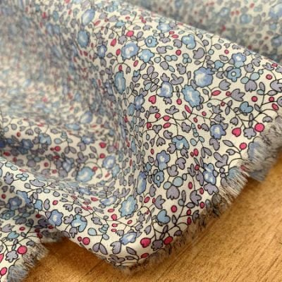 Devonshire 07 lavender printed fabric