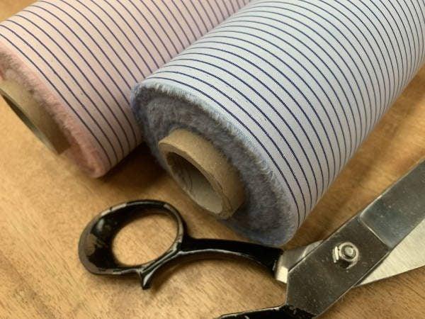 King DJ sky striped fabric