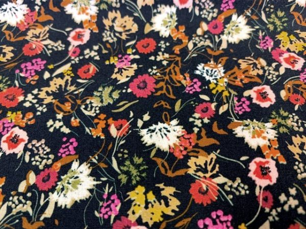 Hampton 406 spice printed fabric