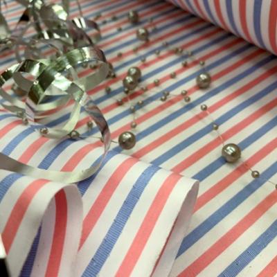 *King HO (ho, ho) Pink Striped Fabric