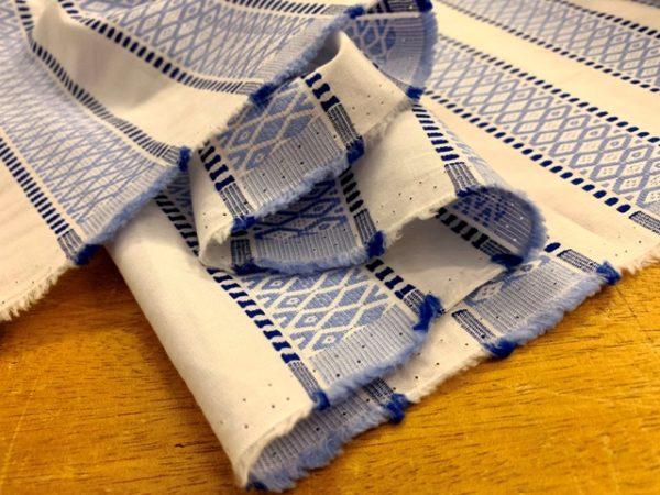 Jacquard 02 blue