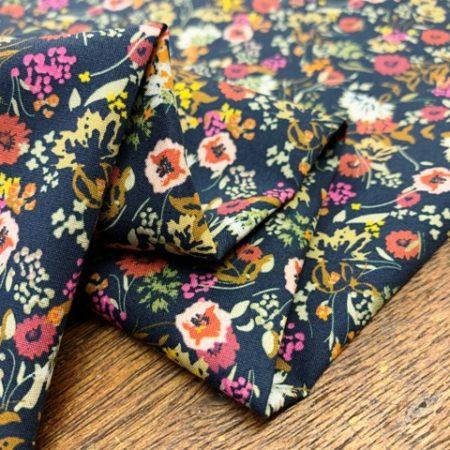 Hampton 406 spice printed fabric