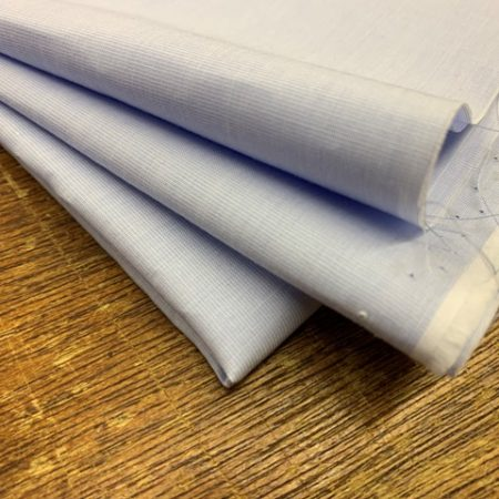 King EE ice blue solid fabric