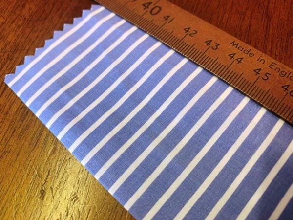 EZ King FJ Blue Striped Fabric