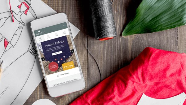 fabrics and phone