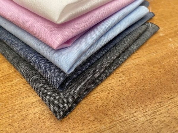 Aruba Plain Graphite Cotton & Linen Fabric