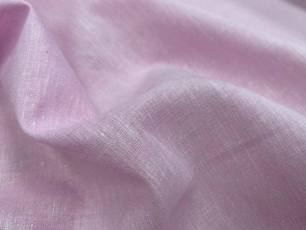 Aruba Plain Lilac Cotton & Linen Fabric
