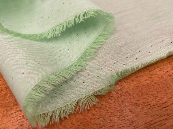 Aruba Plain Lime Cotton & Linen Fabric