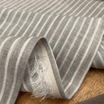 Linen 09 Mushroom Linen Fabric