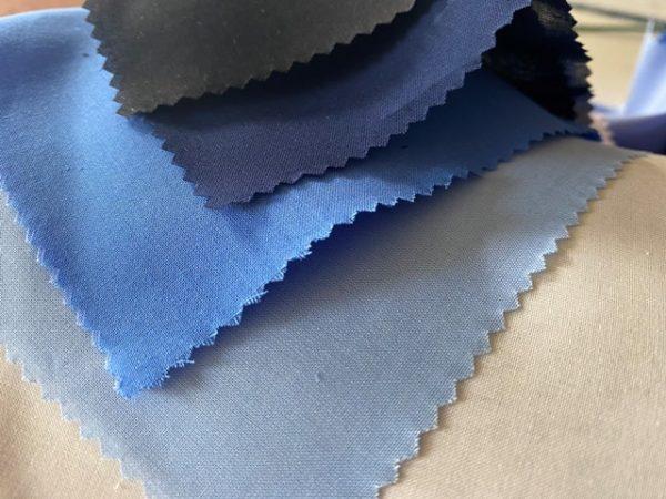 Monarch plain kings blue solid fabric