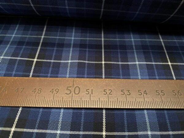 Kent 58 Blue twill fabric