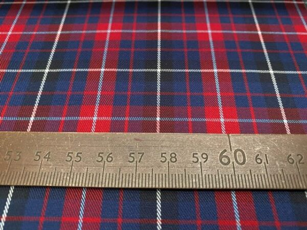 Kent 58 Red twill fabric