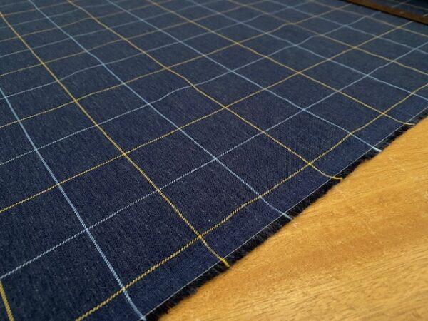 Fife 18 Navy brushed fabric