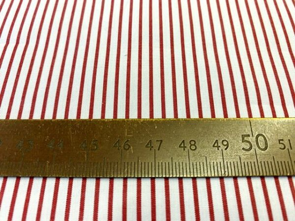 EZ King AC4 Red Striped Fabric