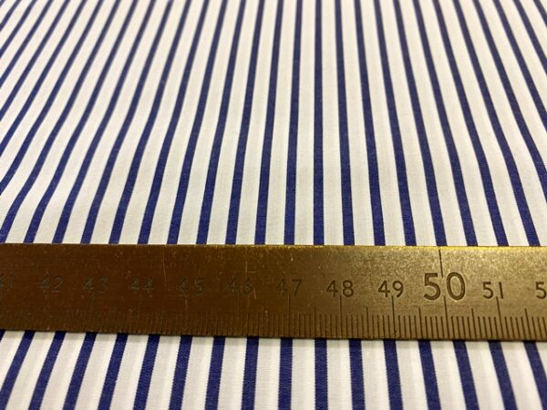 EZ King AC6 Navy Striped Fabric