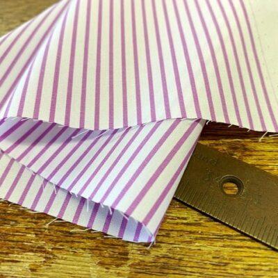 EZ King AC4 Lilac Striped Fabric