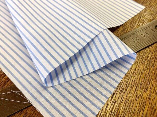 EZ King AC4 Sky Striped Fabric