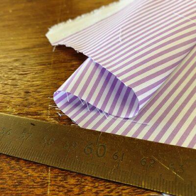 EZ King HD Lilac Striped Fabric