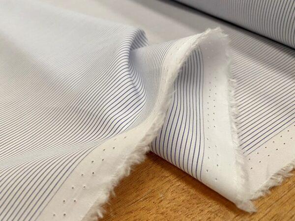 EZ King AC2 Navy Striped Fabric