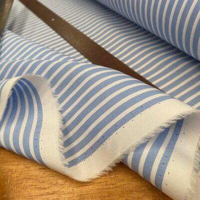 EZ King FJ Sky Striped Fabric