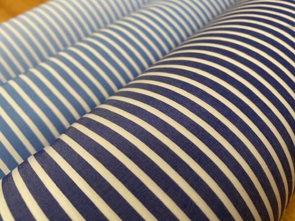 EZ King FJ Navy Striped Fabric