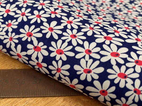 Hampton 425 blue printed fabric
