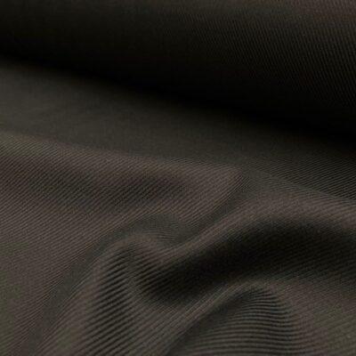 Balmoral twill Charcoal fabric